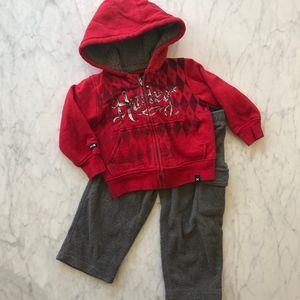 Hurley Sweatshirt & Pant Combo